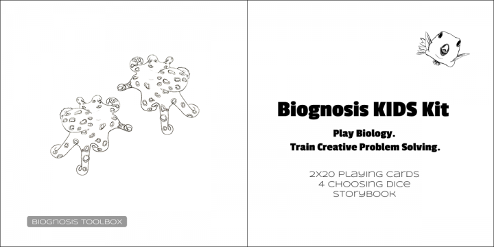 Octopus drawings & Biognosis KIDS Kit contents